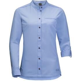 Jack Wolfskin Victoria Roll-Up Shirt Damen shirt blue